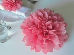 tissue paper flower centerpiece ideas 10 centerpieces 9 tissue paper flowers good for table decoration