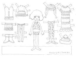 Barbie Paper Doll Coloring Pages Coloring Pages Of Paper Dolls