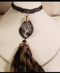 Queen Nefertiti Choker Tattoo Choker Queen Nefertiti Necklace Gift For Her