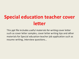 Special Education Teacher Cover Letter 1 638 Cb Ideas Collection