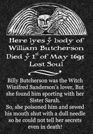 billy butcherson hocus pocus