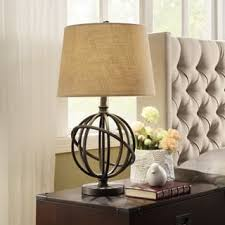 cooper antique bronze metal orbit globe 1light accent table lamp by inspire q artisan rustic table lamps n8