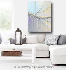 original art abstract painting blue gold grey large modern textured coastal wall art decor on oversized print wall art with original art abstract painting blue gold grey large art