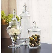 Large Decorative Glass Jars With Lids large decorative glass jars eBay 44