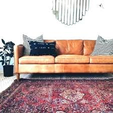 crate and barrel leather sectional amazing camel colored leather chair adorable color sofa with crate and