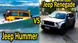 Jeep Renegade passando VERGONHA VS Jeep Hummer REPRESENTANDO | Compilado |  ✓ Vídeos engraçados - YouTube