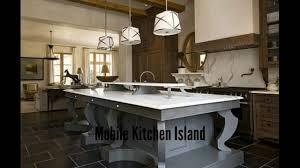 Large Kitchen Island Mobile Kitchen Island Large Kitchen Islands Youtube