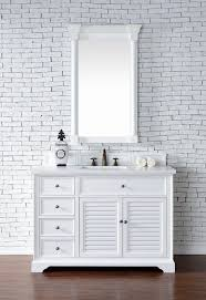 48 inch white bathroom vanity. Abstron 48 Inch White Finish Single Cottage Bathroom Vanity Optional Countertop. Http://