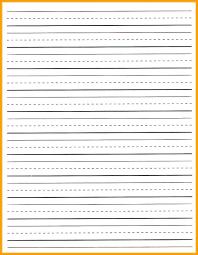 Kindergarten Lined Paper Template Kindergarten Lined Paper Template Free Terrific Kindergarten Paper