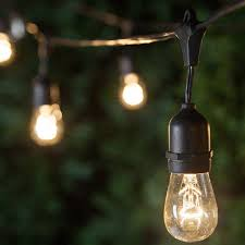 image of commercial outdoor string lights icon