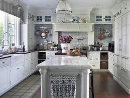 Rustic White Kitchen Design