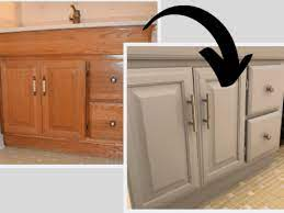 How To Paint A Bathroom Vanity Love Remodeled