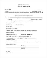 Property Manager Contract Sample Sample Student House Rental ...