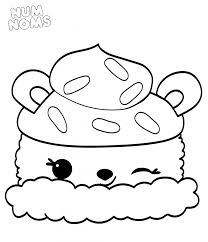 Num Nom Coloring Pages Black And White Ambok