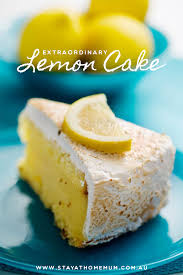 Extraordinary Lemon Cake