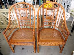 E Innovative Bamboo Rattan Chairs With