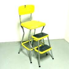 antique step stool retro kitchen step stools retro step stool chairs vintage step stool chair kitchen