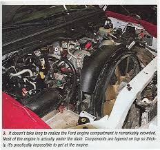 banks power ford power stroke 6 0l part 1 what fails and why 2006 F350 Engine Diagram crowded engine compartment 2006 ford f350 diesel engine diagram
