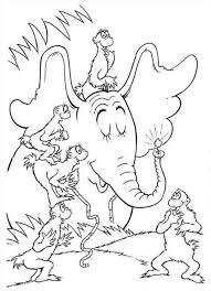 Small Picture Dr Seuss Coloring Pages Free Printable Archives In Happy Birthday