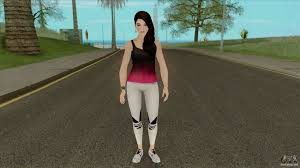 Lana from The Sims 4 for GTA San Andreas
