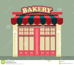 Front Store Bakery Stock Vector Illustration Of Boutique 66837130