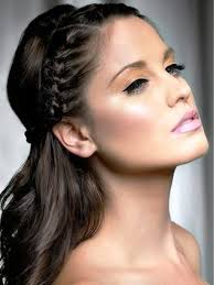 image of wedding guest hairstyles for long hair
