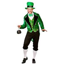 Image Unavailable. Image Not Available For. Colour: Adults Mens Deluxe  Leprechaun Costume ...