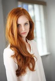 red hair. love this hair color red