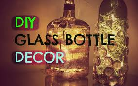 Decorative Colored Glass Bottles DIY Home Decor Upcycle Glass Bottles Astha Bisani YouTube 55