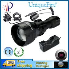 Ir Lights For Night Vision Scopes Portable Lighting Uniquefire Led Hunting Torch Ir Night