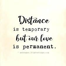Long Distance Love Quotes Beauteous Long Distance Love Quotes Plus Distance Is Temporary But Our Love Is
