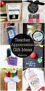 a roundup of teacher appreciation gift ideas for the end of the year