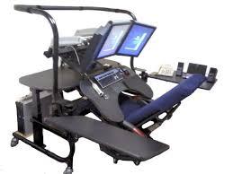 recliner computer desk ergoquest zero gravity chairs and workstations minimal computer desk