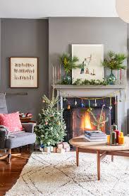 Holiday Living Gold Mini Lights 25 Stylish And Cozy Christmas Living Room Decor Ideas