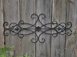 wall decor indoor outdoor cottage style fleur throughout tuscan wrought iron wall art gallery 12 on tuscan style wrought iron wall decor with view photos of tuscan wrought iron wall art showing 12 of 15 photos