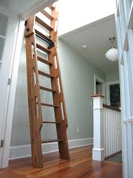 best images on attic ladder pull down stairs with handrail wooden loft ladders timber handrails repair