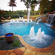 Pool landscaping design