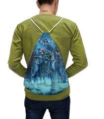 Рюкзак-мешок с полной запечаткой <b>Knights Of</b> The Frozen Throne ...