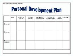 personal development portfolio template. Professional Development Plan Template Vision Personal 2 Example Pe