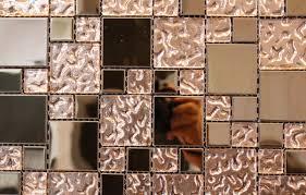 copper glass mosaic tile 2 x2 1 x1