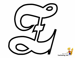 Small Picture Free Coloring Page Alphabet Z In Elegant Cursive Style at