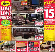 Leons Furniture Kitchener Leons Inventory Clearance Flyer Jan 06 Feb 09 Duzzee