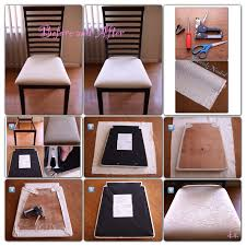 Best 25 Reupholster Dining Chair Ideas On Pinterest Reupholster  Reupholstering A Dining Chair