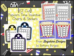 Class Incentive Chart Printable Ez Cut Incentive Chart Printables Popcorn Time