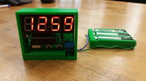 picture of c51 4 bit clock