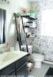 Budget Stencils Bathroom Wall Ideas On A Budget Stencils The Secret To