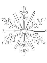 Schneeflocke Zum Ausmalen Kostenlos Ausdrucken