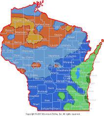 Gardening In Wisconsin Usda Plant Hardiness Zones