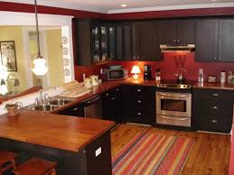 Red Cabinets In Kitchen Pictures Of Black Kitchen Cabinets With Red Walls Cliff Kitchen