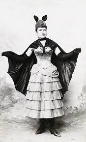 Amazing This Victorian Fancy Dress Costume (c. 1887) Bear Striking Resemblance To  The Batman Costume That Did Not Appear In Detective Comics Until 50 Years  Later.